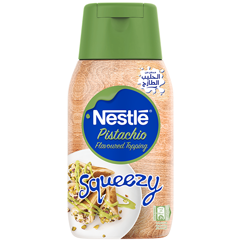 Nestlé® Pistachio Flavoured Topping Squeezy 450g