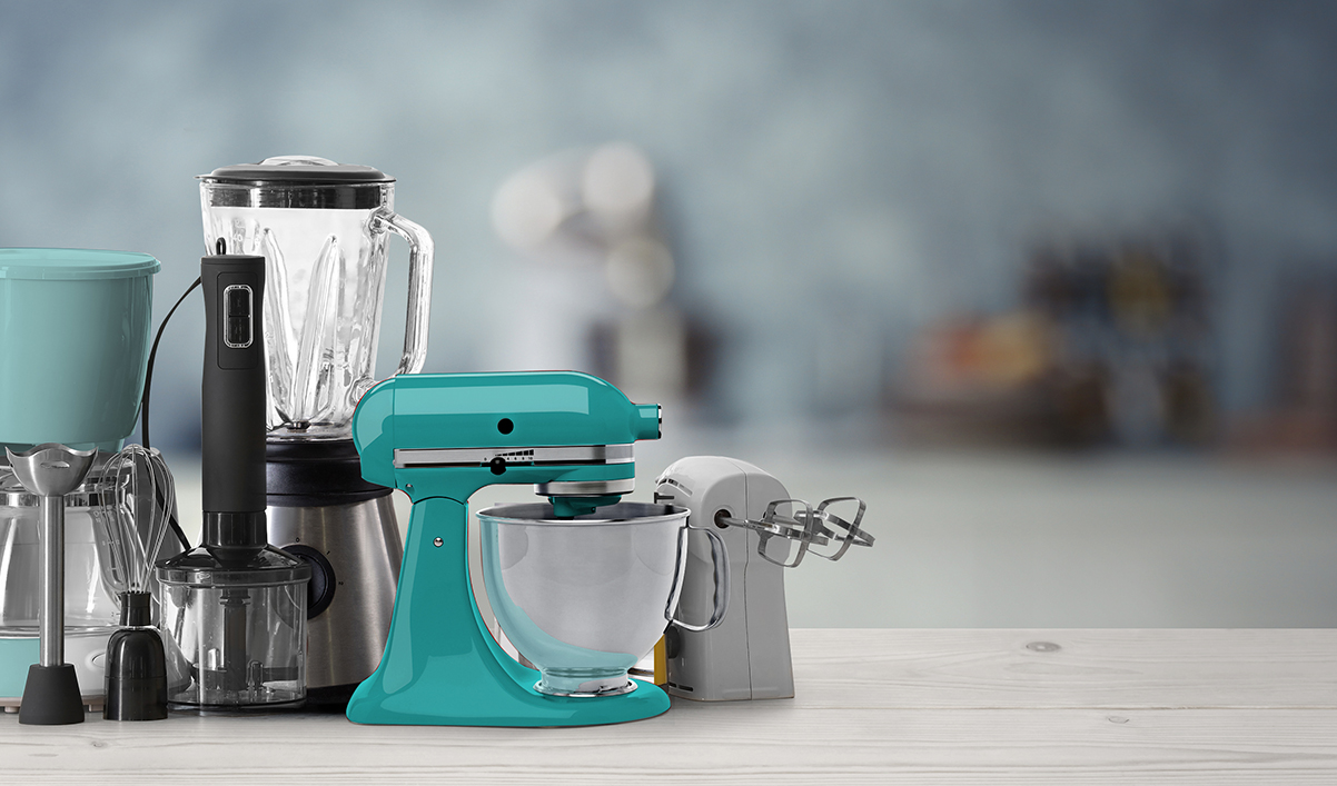 Perfect mixers for perfect desserts